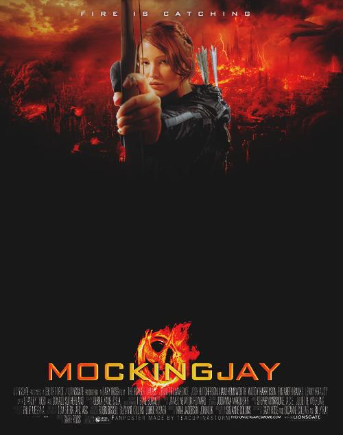Fake Mockingjay Poster