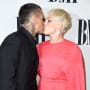 Carey Hart Kisses Pink