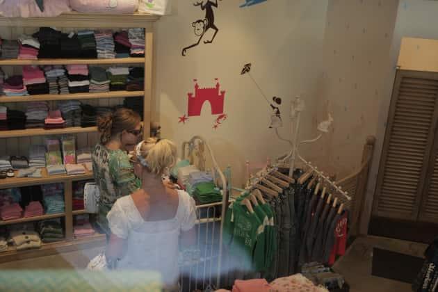 Britney Spears Shopping In White