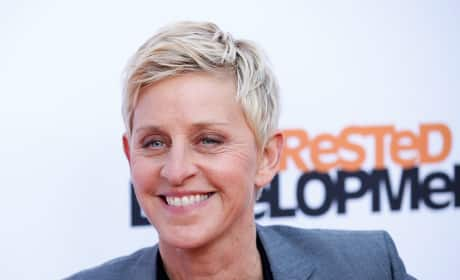Ellen DeGeneres on the Red Carpet