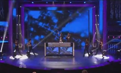 Nicki Minaj, Flo Rida and David Guetta Perform on America's Got Talent