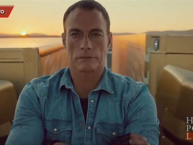 Jean-Claude Van Damme Performs INSANE Split in New Volvo Commercial - The Hollywood Gossip