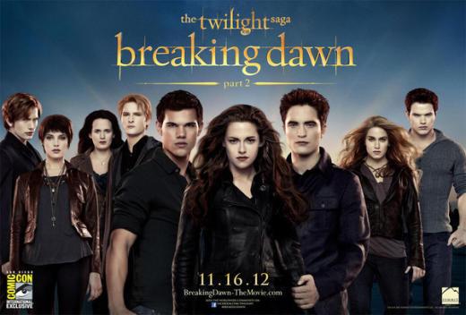 Breaking Dawn 2 Poster