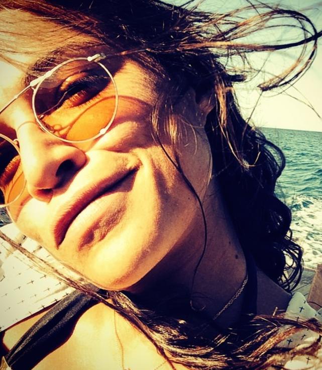 Michelle Rodriguez Selfie