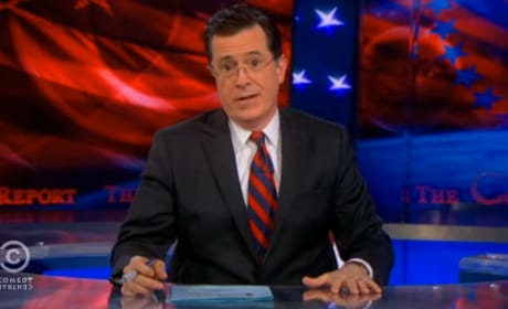 Stephen Colbert Mocks Jeremy Irons Gay Remarks