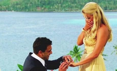 Roberto Pops the Question