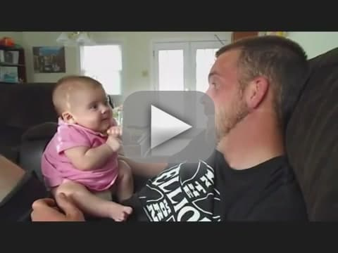 Baby Maybe Tells Dad She Loves Him
