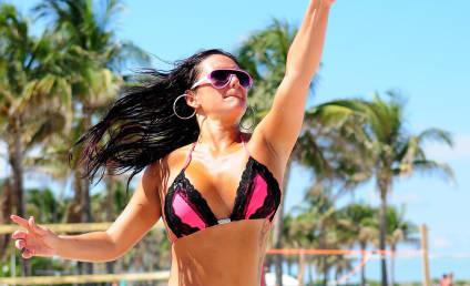 Selena Gomez and Vanessa Hudgens: Boozing in Bikinis!