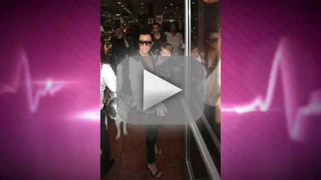 Kourtney Kardashian Curses Off Paparazzi
