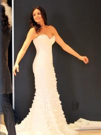 Courtney Robertson, Wedding Dress