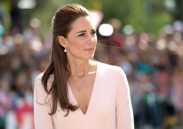 Contemplative Kate Middleton