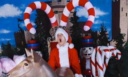 Eminem Posts X-Rated Christmas Card: That Poor Reindeer...