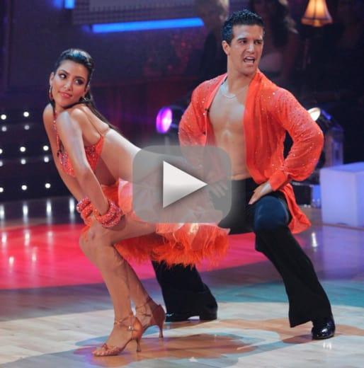Dancing with the stars flashback kim kardashian fails booty 101