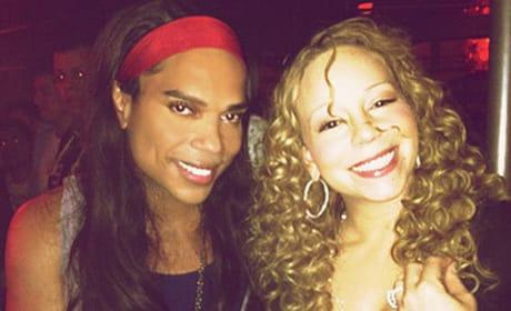 Mariah Carey and B. Scott