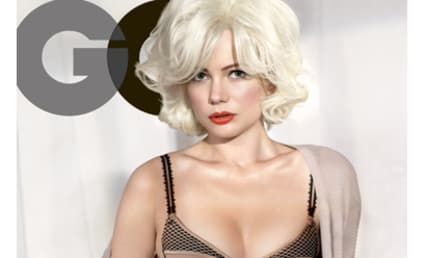 Michelle Williams Channels Marilyn Monroe, Looks HOT in New Issue of GQ