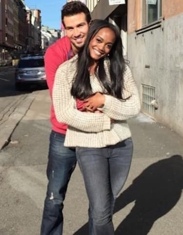 Bryan Abasolo and Rachel Lindsay on Instagram