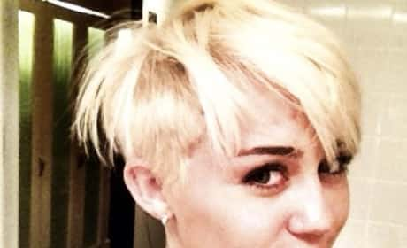 What do you think of Miley Cyrus with short hair?