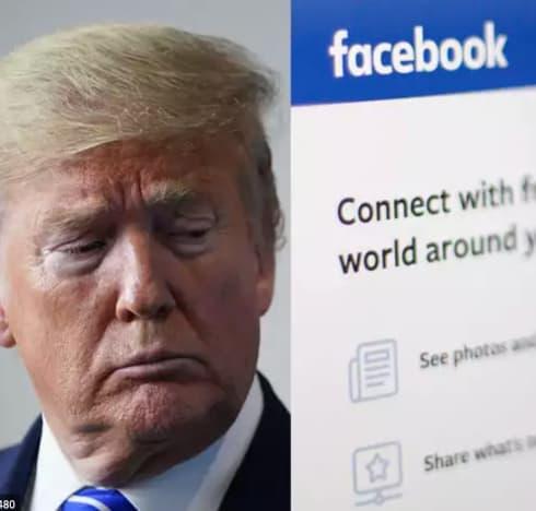trump fb page