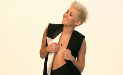 "Miley Cyrus Takes Fans ""Behind the Cover"""