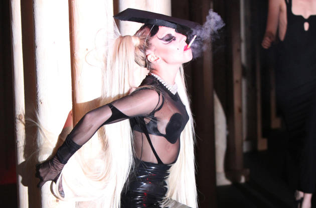 Gaga Catwalkin'