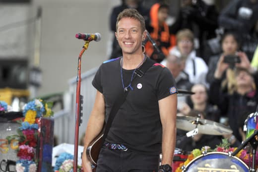 Coldplay Performs on Today
