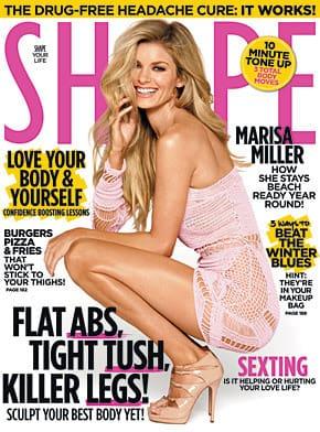 Marisa Miller Shape Cover