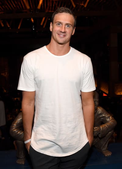 Ryan Lochte Just Chills
