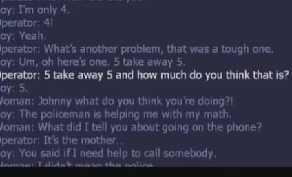 Kid Calls 911 For Help With Math Homework, Gets Busted By Mom
