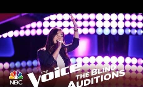 Clara Hong - Chuck E.'s in Love (The Voice Audition)