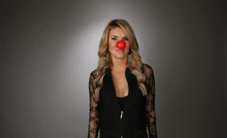 Brandi Glanville Red Nose Photo