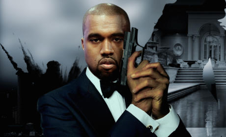 Kanye West as James Bond