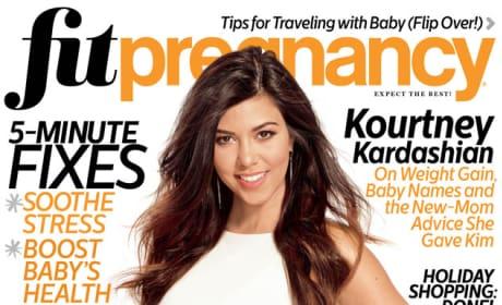 Kourtney Kardashian Fit Pregnancy Cover