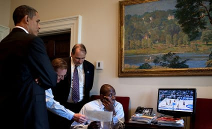 President Obama: Rocking Man Cave Status in Oval Office!