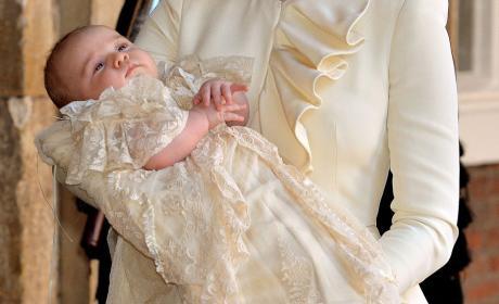 Prince George Christening Photo