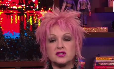 Cyndi Lauper on Bravo