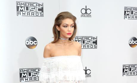 Gigi Hadid at the 2016 AMAs