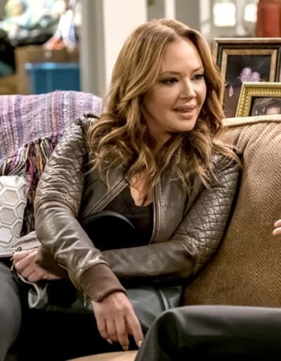 Leah Remini on Kevin Can Wait