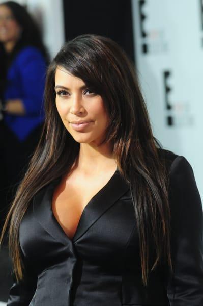 Pregnant Kim Kardashian Look