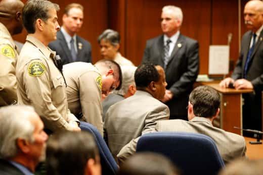 Dr. Conrad Murray Handcuffed