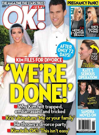 Kim Kardashian and Kris Humphries are Done!