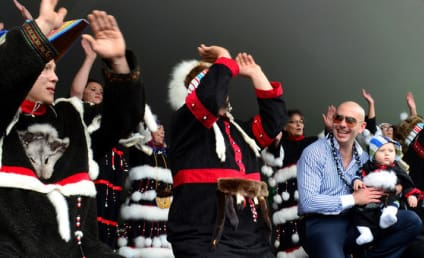 "Pitbull Performs in Tiny Alaska Town, Visits Walmart After Online ""Exile"" Effort Goes Viral"
