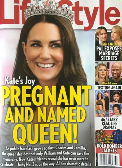 Kate Middleton: Pregnant AND Queen!?