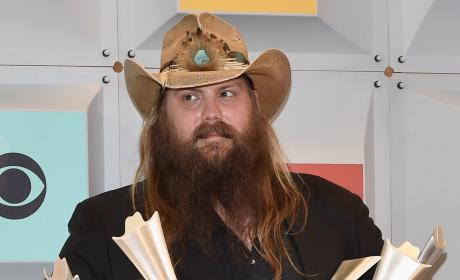 Chris Stapleton Wins Big