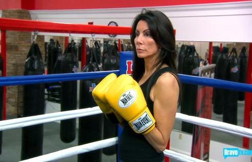 Danielle in Training