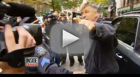 Alec Baldwin Goes OFF on Reporters