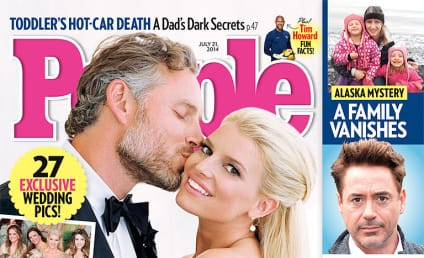 Jessica Simpson-Eric Johnson Wedding Photo: Revealed! Gorgeous!