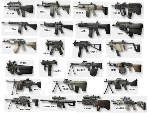Assault Rifles Pic