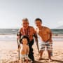 Matt Roloff, Zach Roloff, and Jackson on the Beach