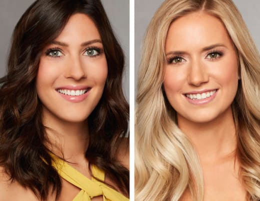 Becca Kufrin and Lauren Burnham