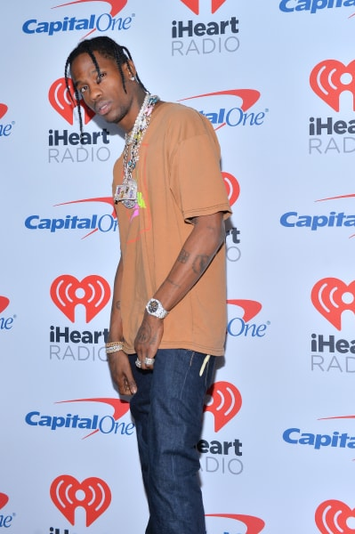 Travis Scott Red Carpet Pic